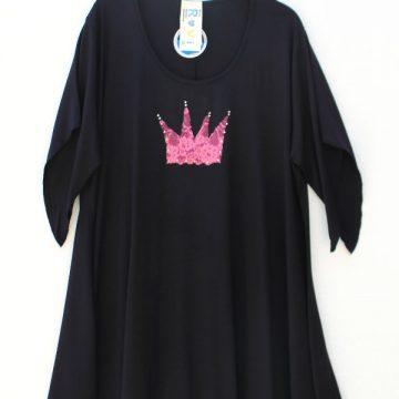 μπλούζα για παχουλές χειροποίητη διακόσμηση