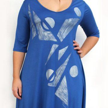 μοντέρνο φόρεμα για εύσωμες