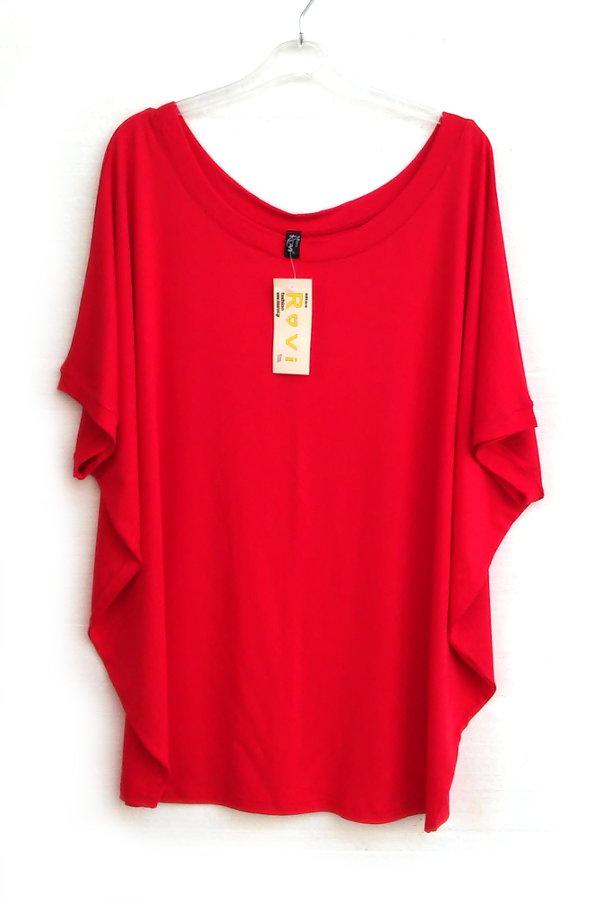 8b51daf0553b ... Νυχτερίδα Ενδιάμεση Κοντομάνικη Onesize. μπλούζα νυχτερίδα νεανικά  ρούχα μεγάλα μεγέθη