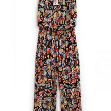 ολόσωμη φόρμα στράπλες παντελόνα