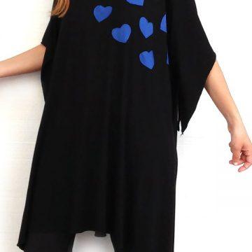 6b623fd7458 Καρδιές από ασπρόμαυρο πουά Archives - Miss Rovi Fashion
