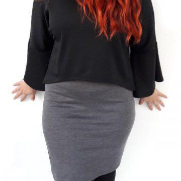 φόρεμα νεανικό μίντι μεγάλα μεγέθη