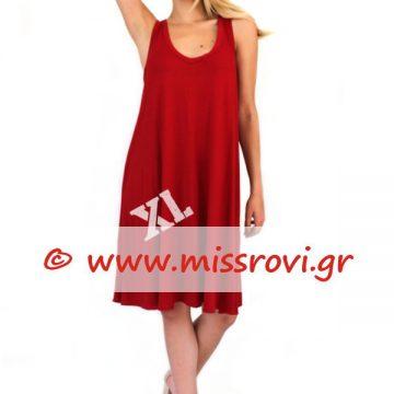 9a9e27479636 Φόρεμα Ράντα Κλος Βε Κοντό Υπερμέγεθος